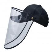 Kepurė su apsauginiu skydeliu
