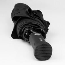 Automatinis skėtis su garso kolonėle