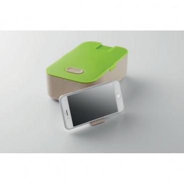 Pietų dėžutė su laikikliu telefonui