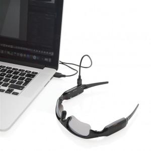 Saulės akiniai su vaizdo kamera