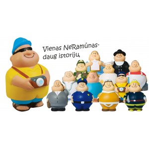 Anti stresas NeRamūnas SQUEEZIES® Mr.Bert®