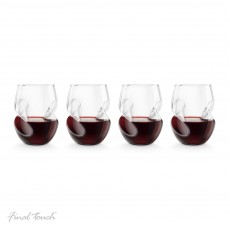 Raudono vyno dekanteris ir taurės CONUNDRUM