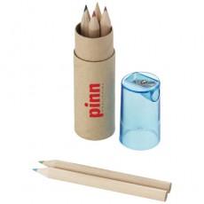 Pieštukų rinkinys. Ruda spalva