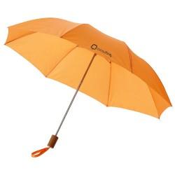 Sudedamas lietsargis. Oranžinė spalva